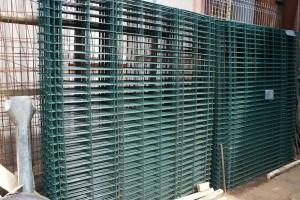 Panou gard bordurat verde 1700x2000